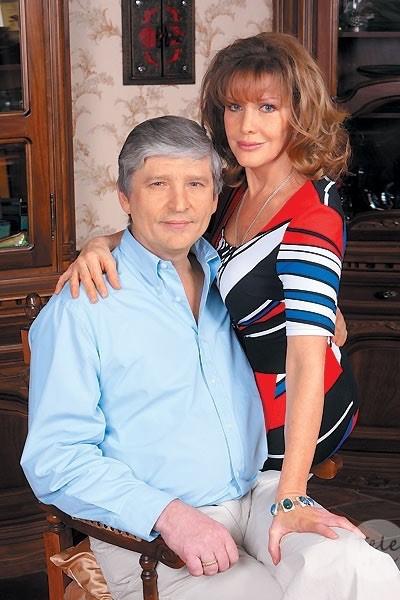 Елена Проклова и Андрей Тришин выглядели счастливой парой