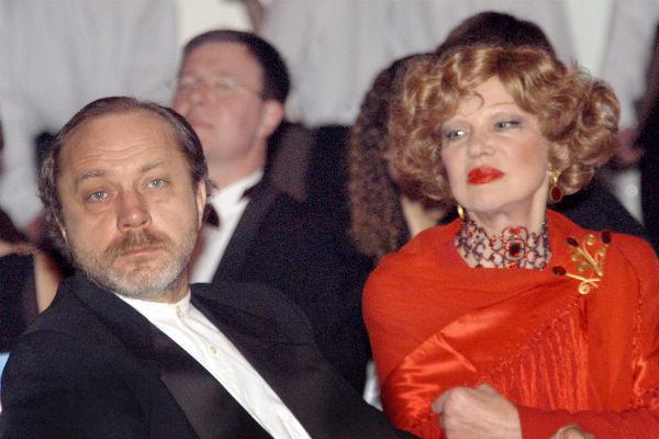 Сергей Сенин и Людмила Гурченко