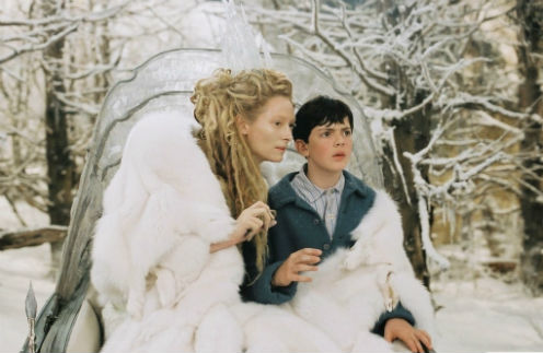 Кадр из фильма «Хроники Нарнии: Лев, колдунья и волшебный шкаф»