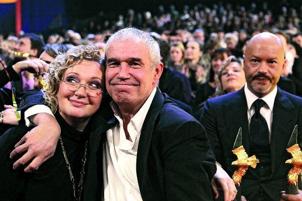 Сергей с женой Инной вместе более 30 лет, 2012 год