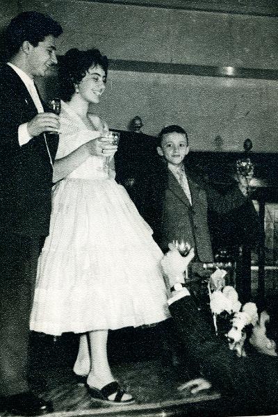 Пара поженилась в 1956 году