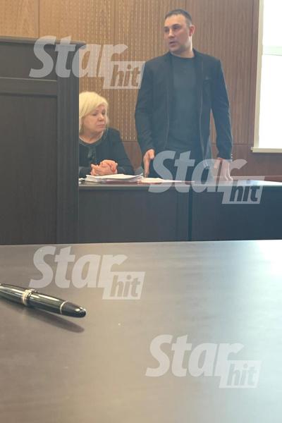 Эдуард Сорокин на суде