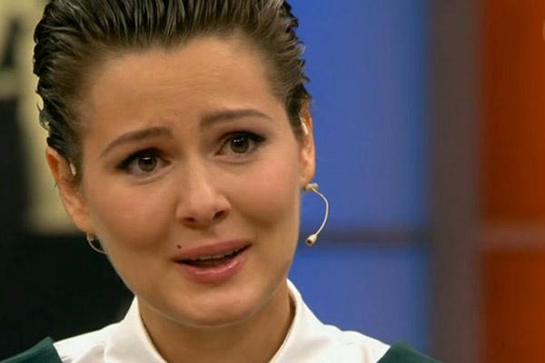 Мария не смогла сдержать слез