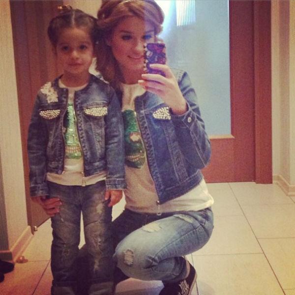 3-летняя Маруся и 30-летняя Ксения