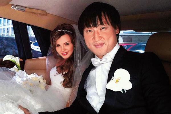 Сангаджи Тарбаев с супругой Татьяной