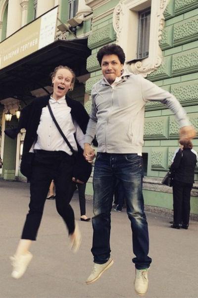 Ольга Ломоносова и Павел Сафронов