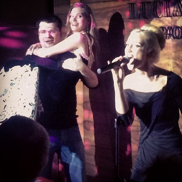 Гарик Харламов, Кристина Асмус и Ольга Бузова