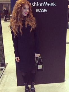 Анастасия Стоцкая на Mercedes-Benz  Fashion Week