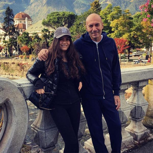 Вика Крутая с отцом Игорем Крутым во время недавнего путешествия по Италии