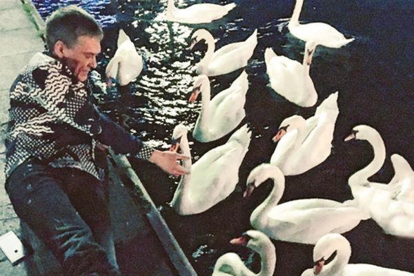 Миша Шаронин – лучший дресcировщик лебедей Швейцарии