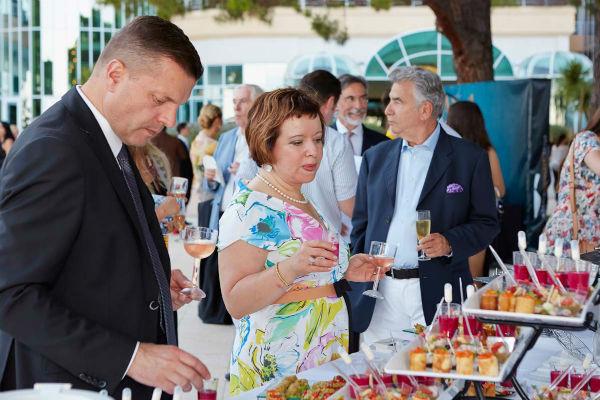 Леонид Парфенов и Елена Чекалова на гала открытии Сезонов в Monte-Carlo Bay Hotel & Resort