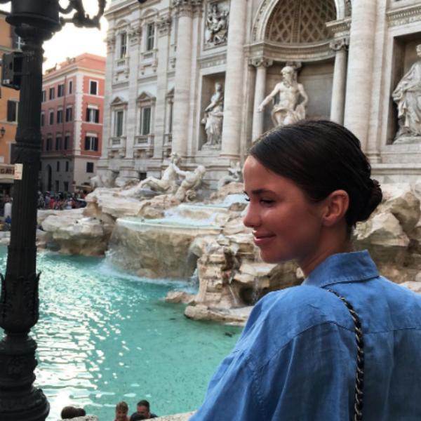 Алекса отдохнула в Риме