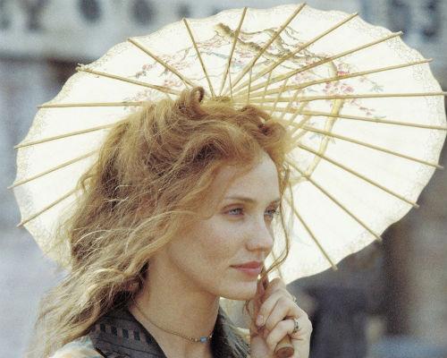 Кэмерон Диаc, кадр из фильма «Банды Нью-Йорка»