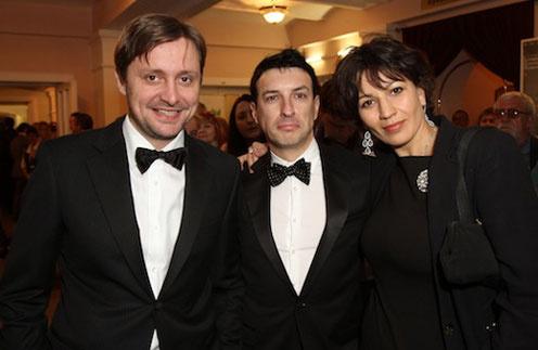 Президент фестиваля Артем Михалков, программный директор Стас Тыркин и генеральный продюсер Полина Зуева