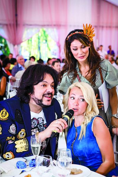 Яне Рудковской и  Филиппу Киркорову   не давалась «Клятва  гостей»