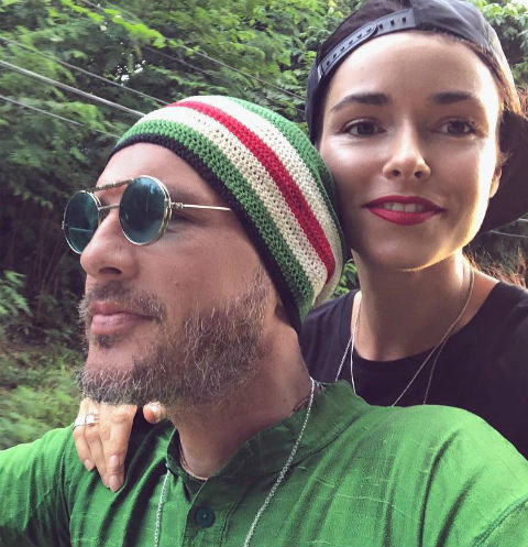 Ирена Понарошку с мужем Александром