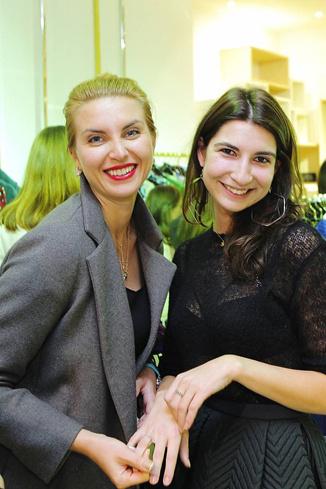 Ольга Карачевская и Рената Харькова (ELLE)