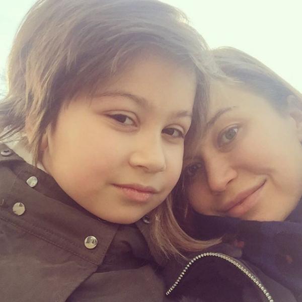Кристина Бабушкина с дочерью Устиньей