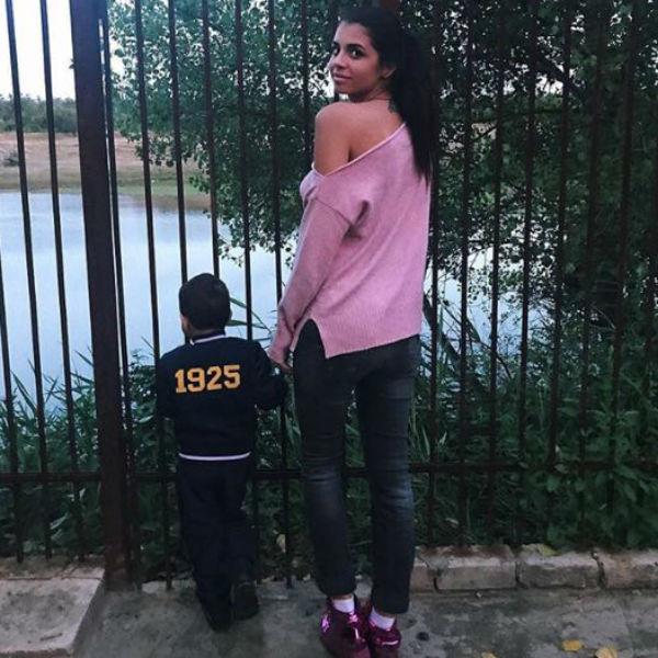 Алиана также вернула себе фамилию Устиненко