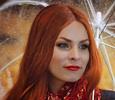 Беременная Мэрилин Керро произвела фурор ярким нарядом