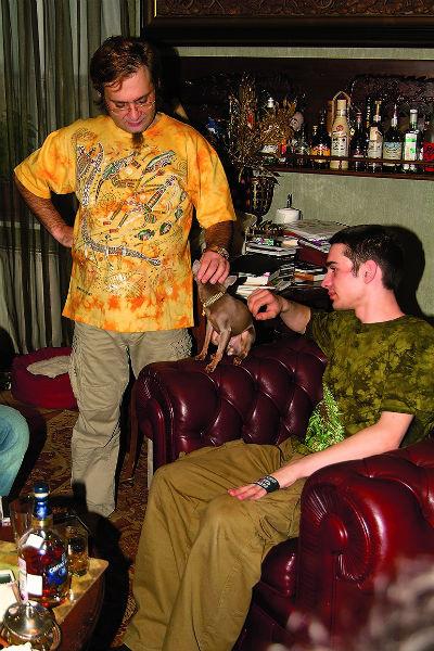 Старший сын шоумена Сергей отказался от наследства отца