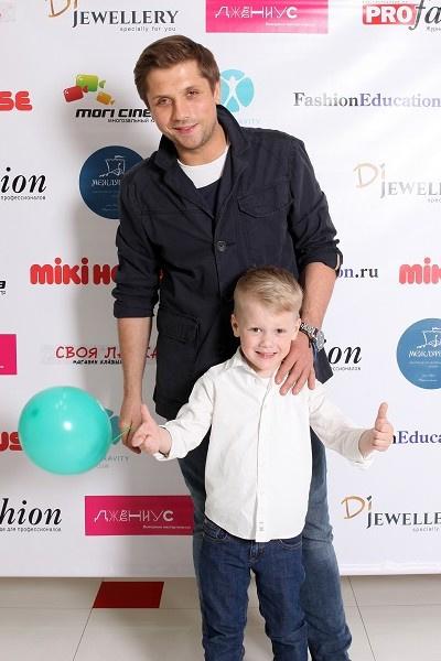 Роман Маякин с сыном