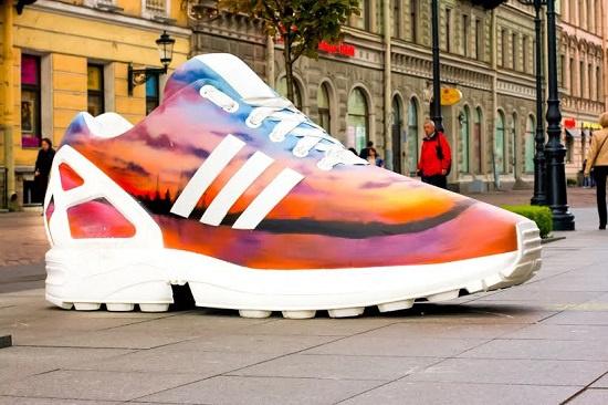Дизайн кроссовка от бренда уличной одежды Anteater