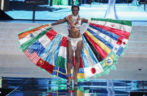 Участница конкурса «Мисс Вселенная - 2012»