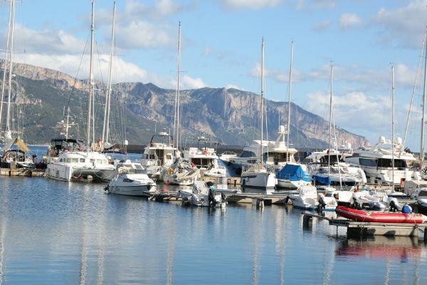Порт у берегов Сардинии