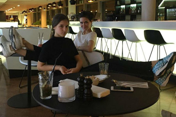 Екатерина с дочерью