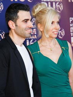 Алена Свиридова с гражданским мужем Давидом Варданяном