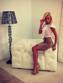 Коллекция сезона весна-лето 2013 от Ольги Бузовой получилась очень женственной