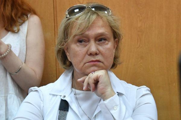 Елена Забралова на суде по делу Степаненко