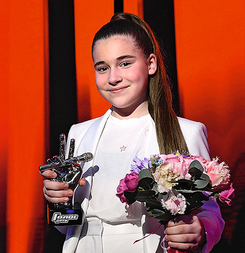 Микелла Абрамова мечтала участвовать в «Голосе» с пяти лет