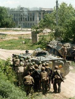 За несколько июньских дней 1995 года больница в Буденновске превратилась в линию фронта