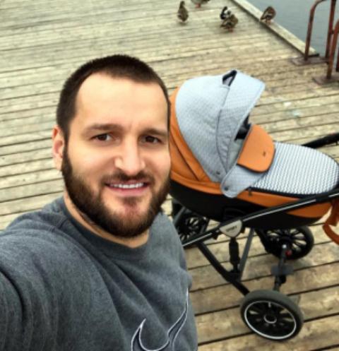 Алексей Самсонов с сыном