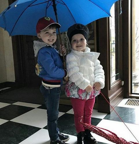 Гарри и Лиза Галкины