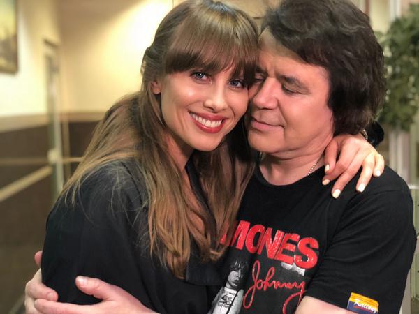 Юлия Беретта и Евгений Осин