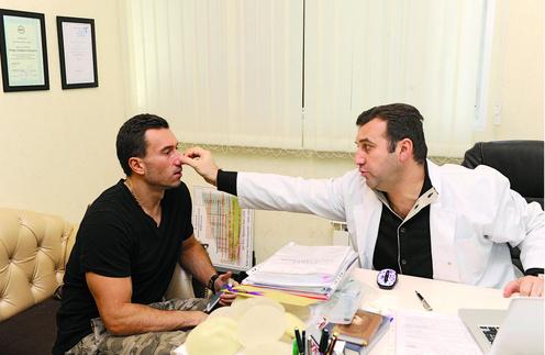 Тигран Алексанян определил, что дышать Терехину мешает искривленная перегородка