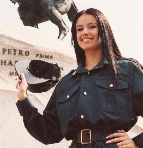 Оксана Федорова – самый красивый следователь страны