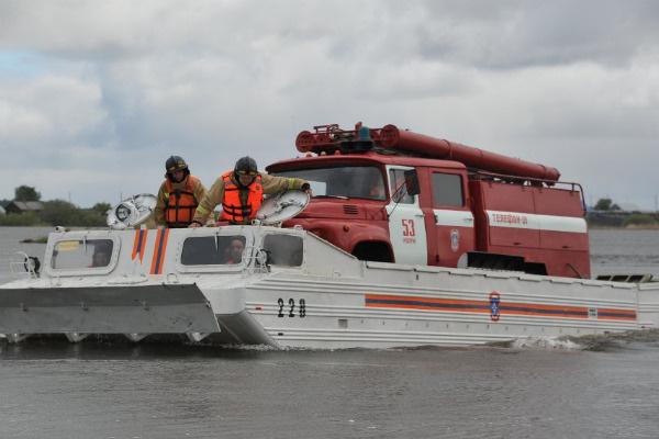 Спасательная операция на воде