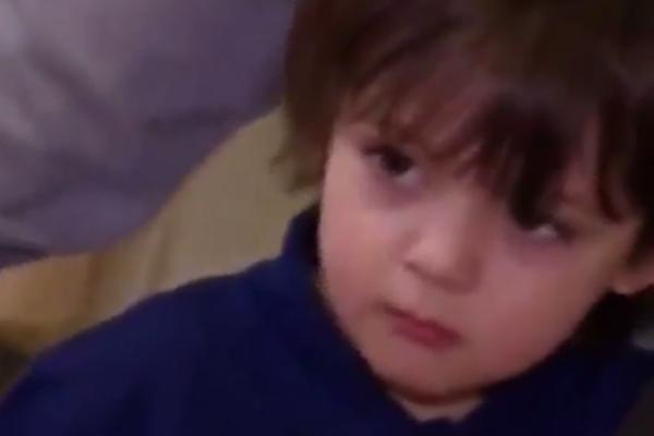 Сложно не заметить внешнее сходство маленького Мартина с его знаменитым отцом