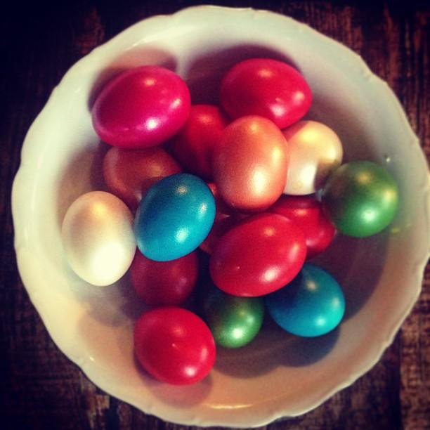 Пасхальные яйца Светланы Бондарчук