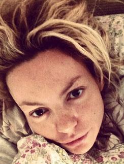 Маша Циагль не встает постели