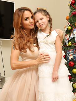 Певица МакSим с дочерью Сашей