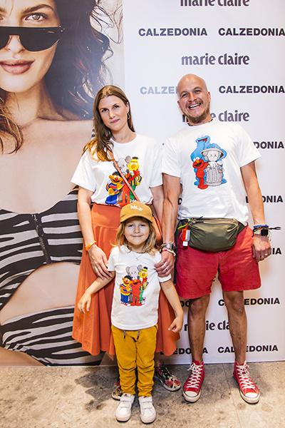 Марьяна Спивак с семьей