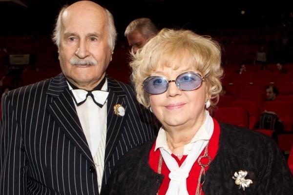 Владимир Михайлович с женой Иветтой Евгеньевной