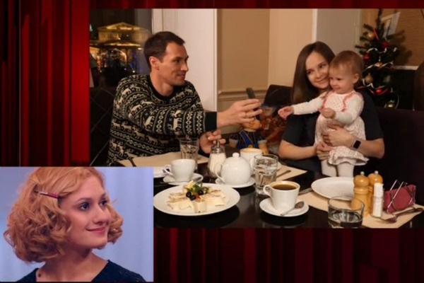 Тимур не стал приводить жену и маленькую дочку в студию, а записал видео