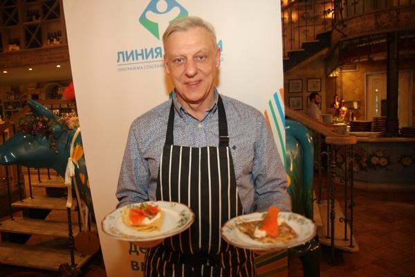 Александ Половцев поразил кулинарными способностями