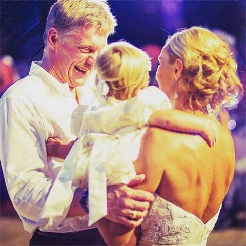Свадьба Татьяны Навки и Дмитрия Пескова состоялась в августе 2015 года